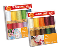 gutermann 10 spool cotton thread gift pack