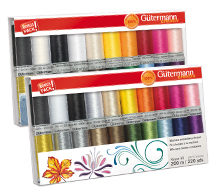 gutermann 20 spool embroidery thread gift pack