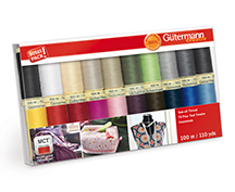 gutermann 20 spool sewall thread gift pack