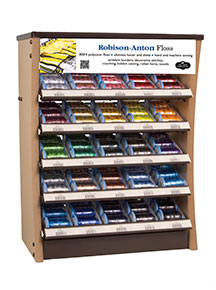 robison-anton embroidery thread curve counter display