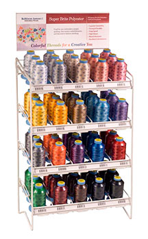 robison-anton embroidery thread king counter wire display